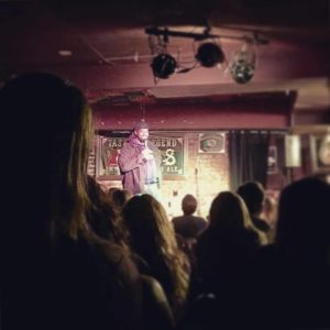 Comedy show for service